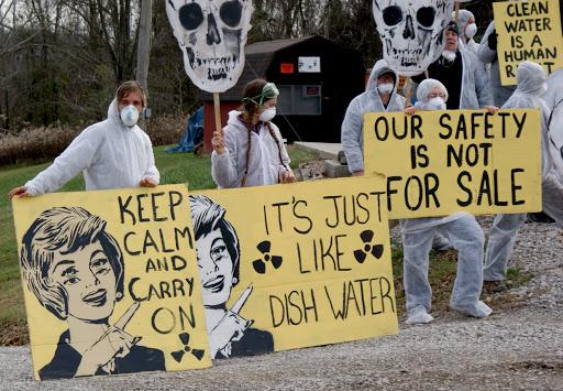 fracking radioactive problem