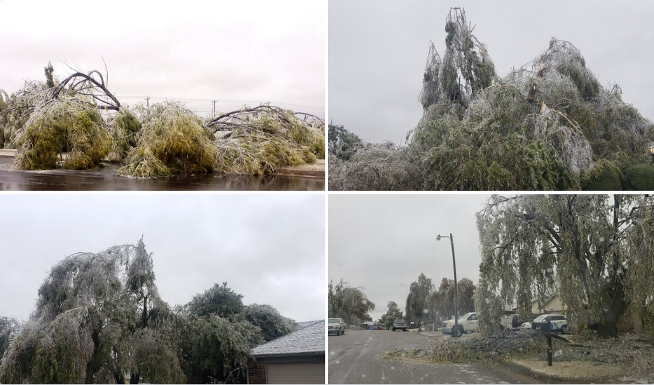 Rare and dangerous ice storm engulfs Oklahoma and knocks ...