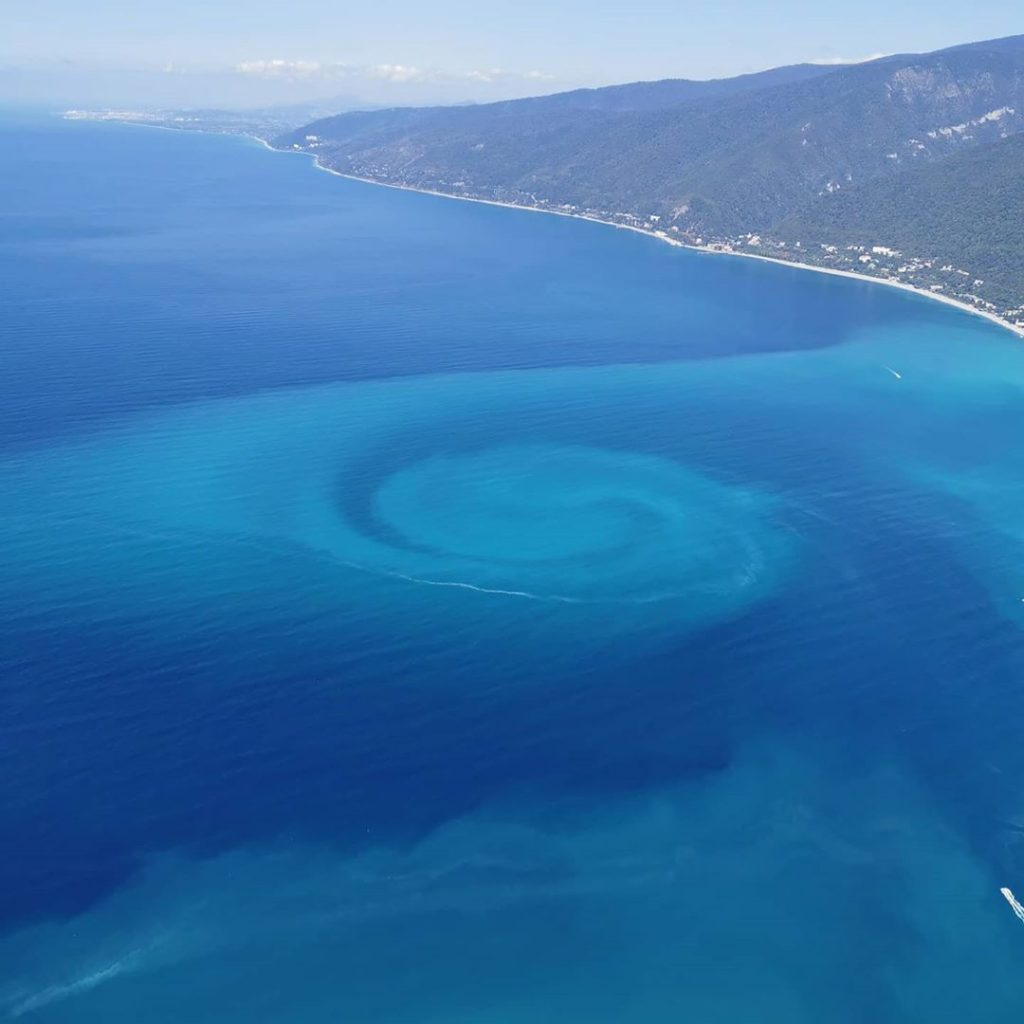 Mysterious spiral forms in the Black Sea, spiral black sea