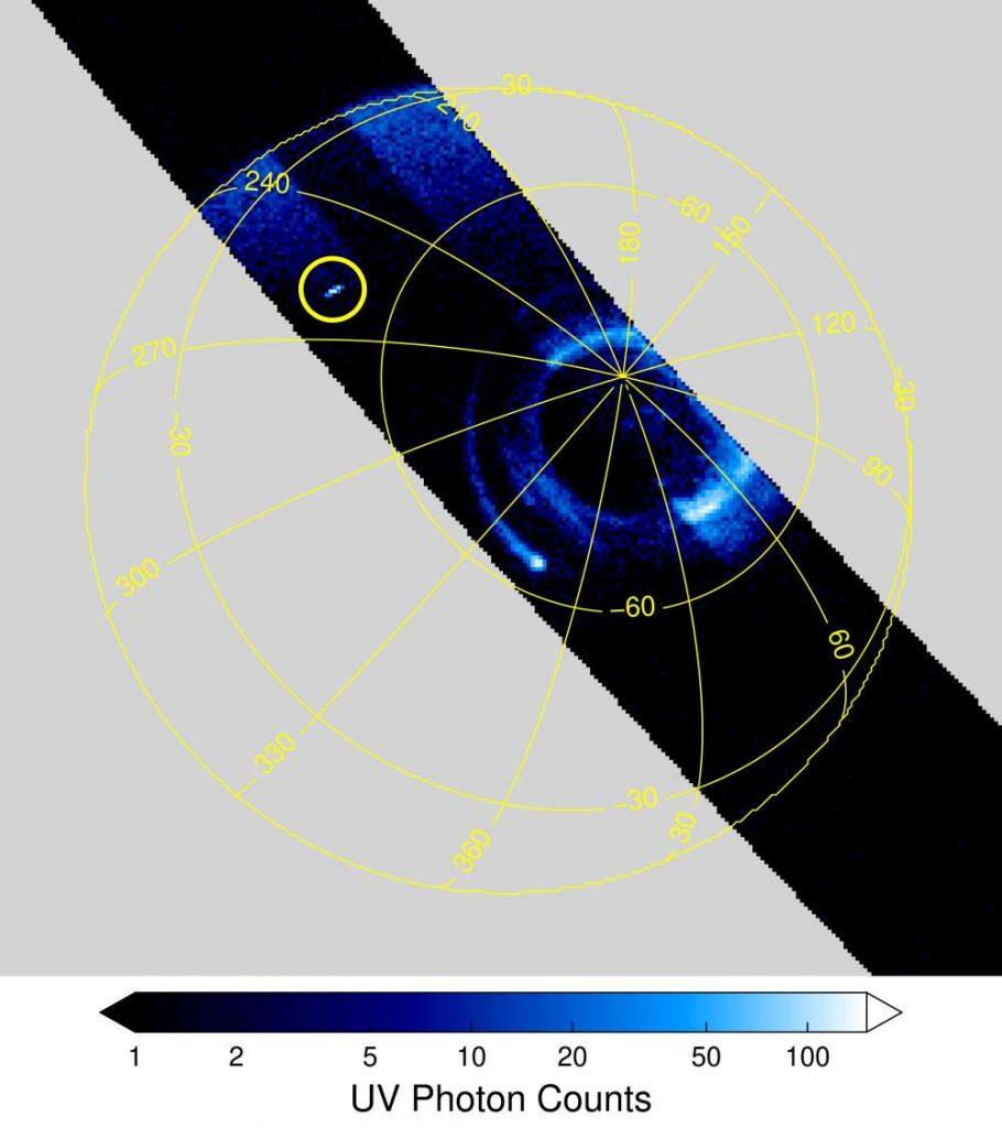 sprite jupiter, First sprite ever discovered over Jupiter, jupiter sprite