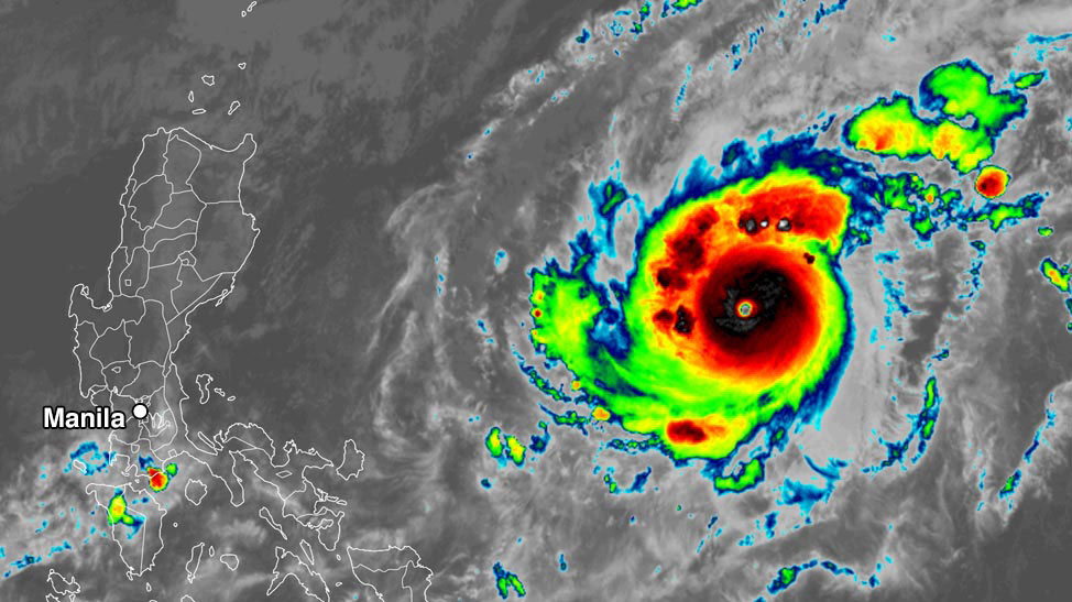 goni, super typhoon goni, super typhoon goni philippines, Super typhoon Goni hits the Philippines as the strongest storm of 2020