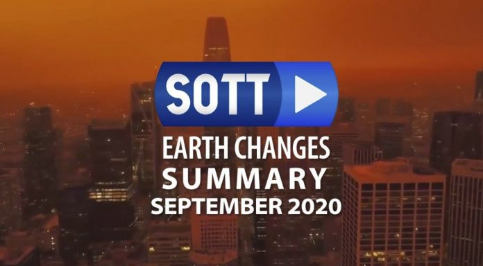 weather anomalies video for September 2020