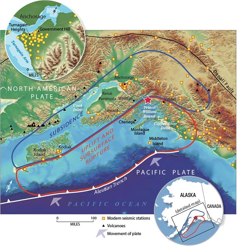 1964 alaska earthquake and tsunami, 1964 alaska earthquake and tsunami map, 1964 alaska earthquake and tsunami location