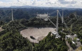 arecibo telescope decommission and collapse