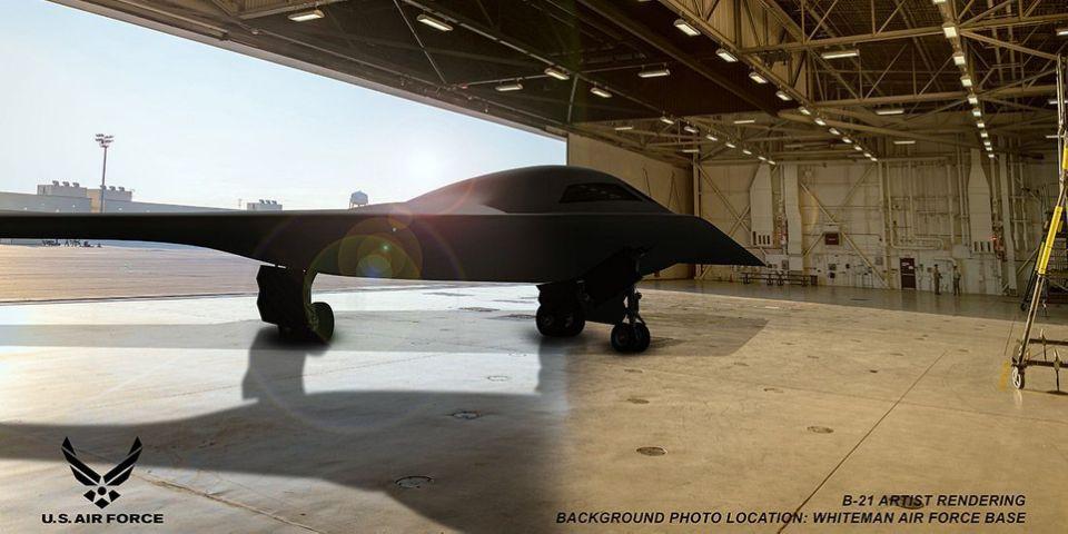 B-21 Raider bomber, secret B-21 Raider bomber, B-21 Raider bomber flies over California