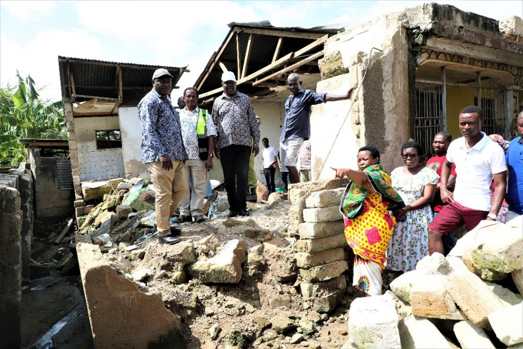 Dar es Salaam mysterious mud liquefaction house collapse