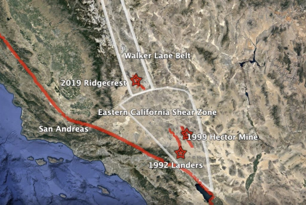 Unusual surface movement revealed in 2019 Ridgecrest earthquake