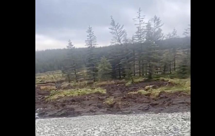 Massive peat slide at Co Donegal bog video, Massive peat slide at Co Donegal bog video ireland, Massive peat slide at Co Donegal bog video november 2020