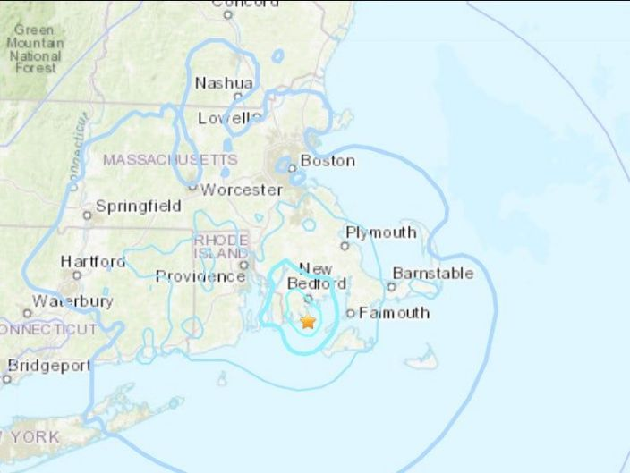 New England was hit by strongest earthquake in the region for decades