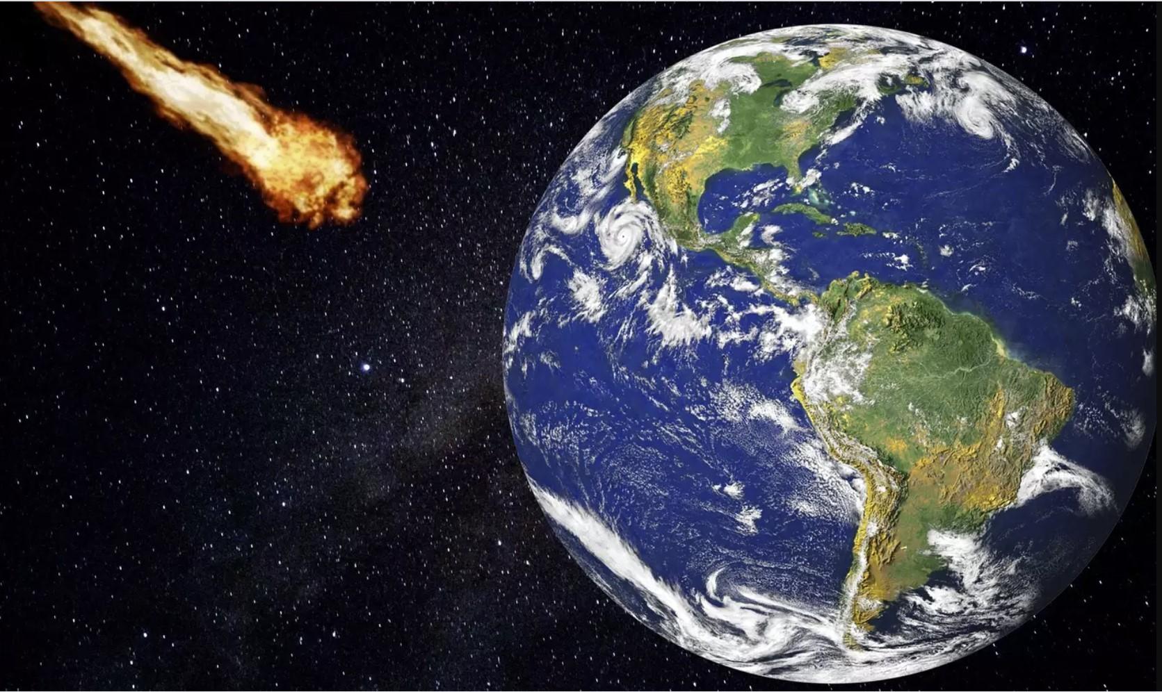 Bir Göktaşı Dünyaya Rekor Derecede Yakın Geçiş Yaptı…