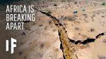 Africa is breaking apart, Africa is breaking apart creating a new ocean