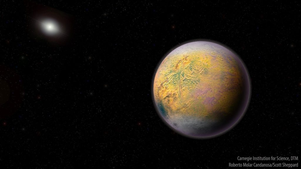 astronomers discover Goblin far beyond Pluto which could lead us to the discovery of Planet X (Planet Nine)