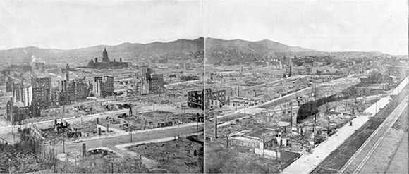 The deadliest earthquake in the US is the 1906 San Francisco earthquake