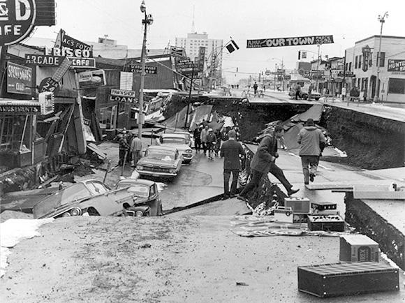 deadliest earthquake usa 1964 M9.2 Alaska Earthquake