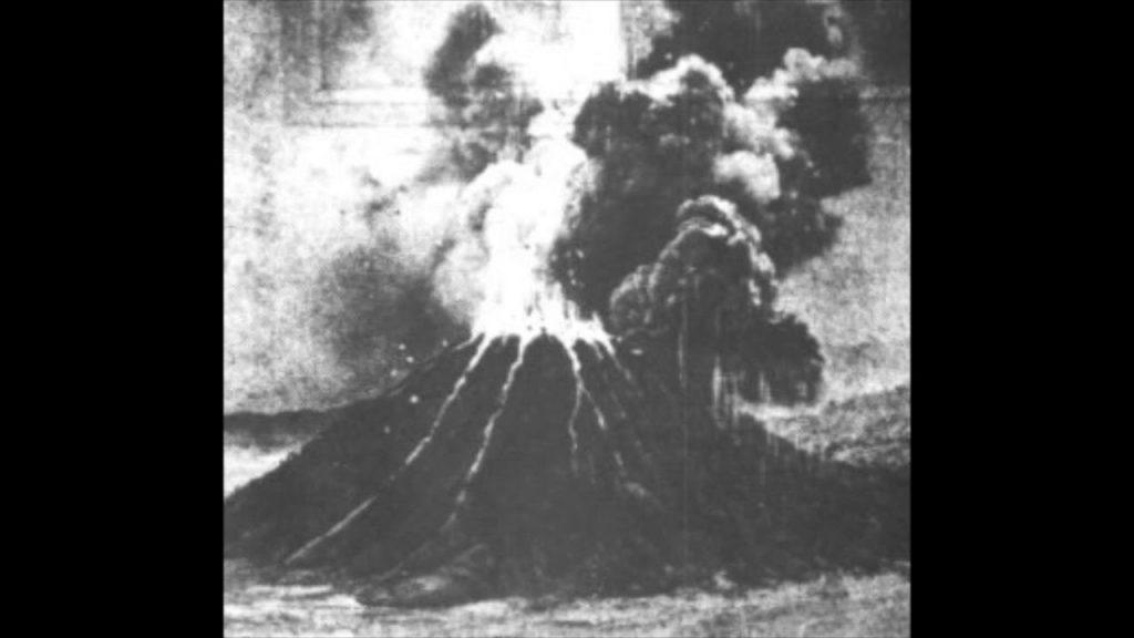 krakatoa eruption sound, krakatoa eruption sound video, krakatoa eruption sound audio, First recording of the Krakatoa volcanic eruption in 1883