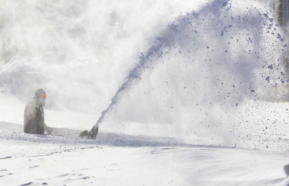 Extreme blizzard hits Labrador in Canada in November 2020