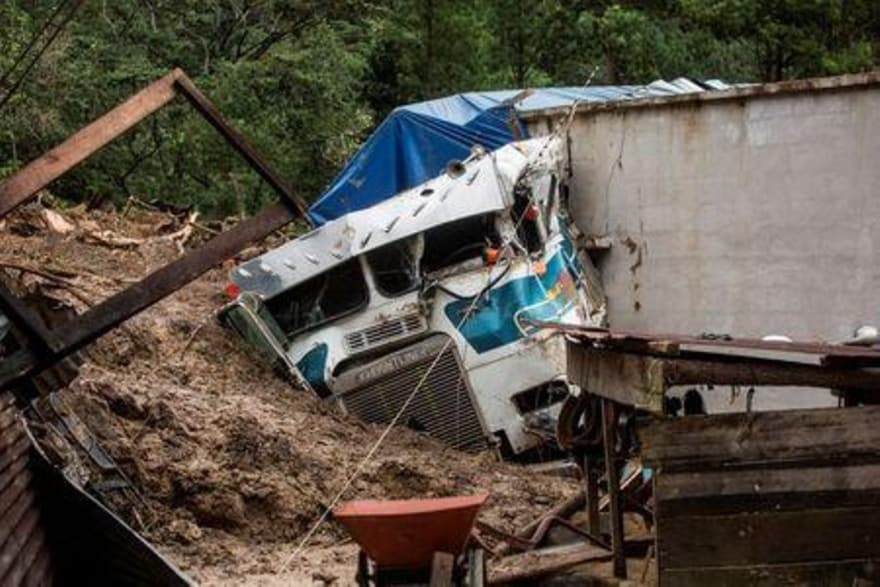 Up to 21 are dead and a hundred are missing in Guatemala after a huge landslide buries homes in 50ft of mud after Hurricane Eta wreaks havoc in Central America, mudslide guatemala death, eta guatemala,