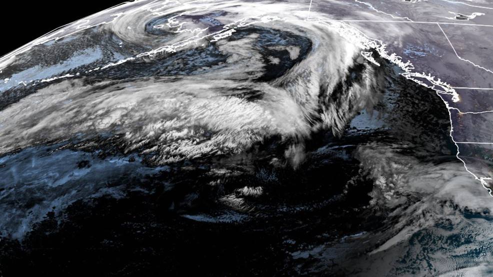 'Beast of a storm' about to slam into Pacific Northwest