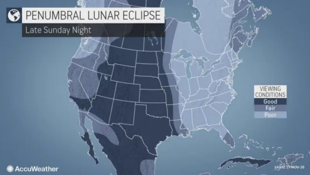 penumbral lunar eclipse, penumbral lunar eclipse nov. 29-30, lunar eclipse november 2020