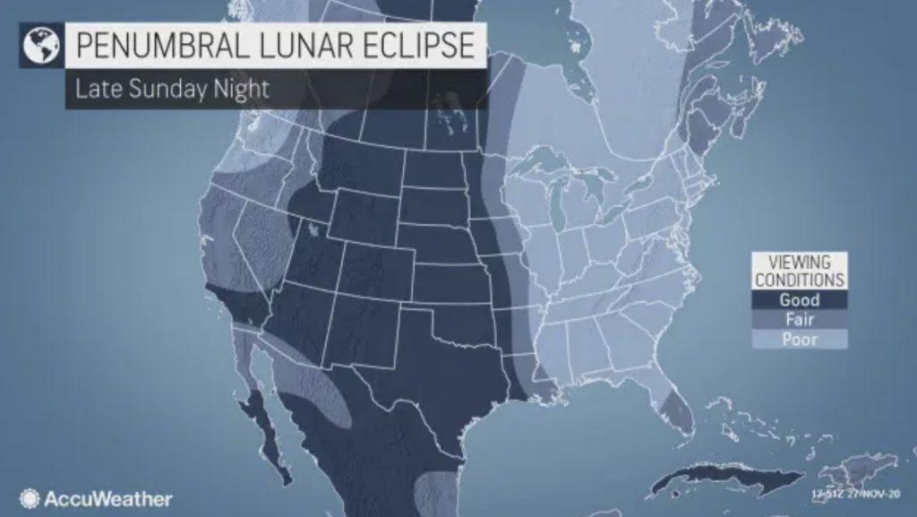 penumbral lunar eclipse, penumbral lunar eclipse nov. 29-30, lunar eclipse november 2020