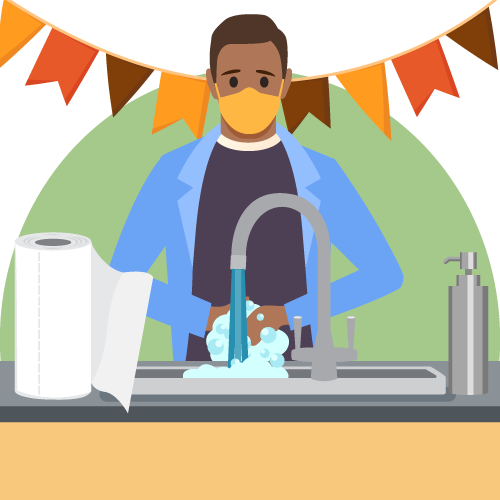 thanksgiving 2020 travel rules, Wash your hands during Thanksgiving 2020 if you travel