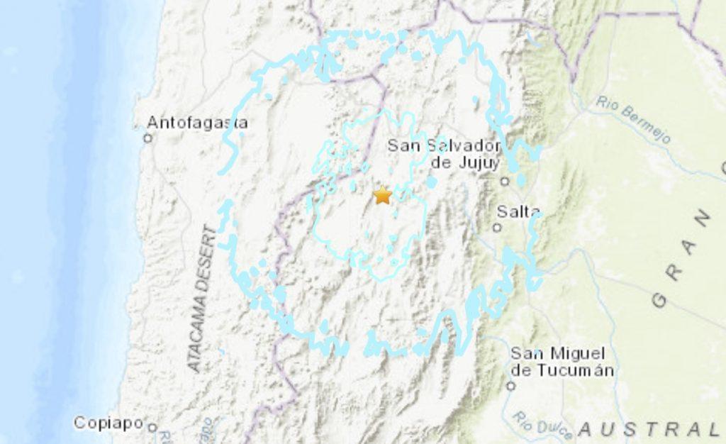 M6.3 earthquake hits Argentina on November 30, 2020