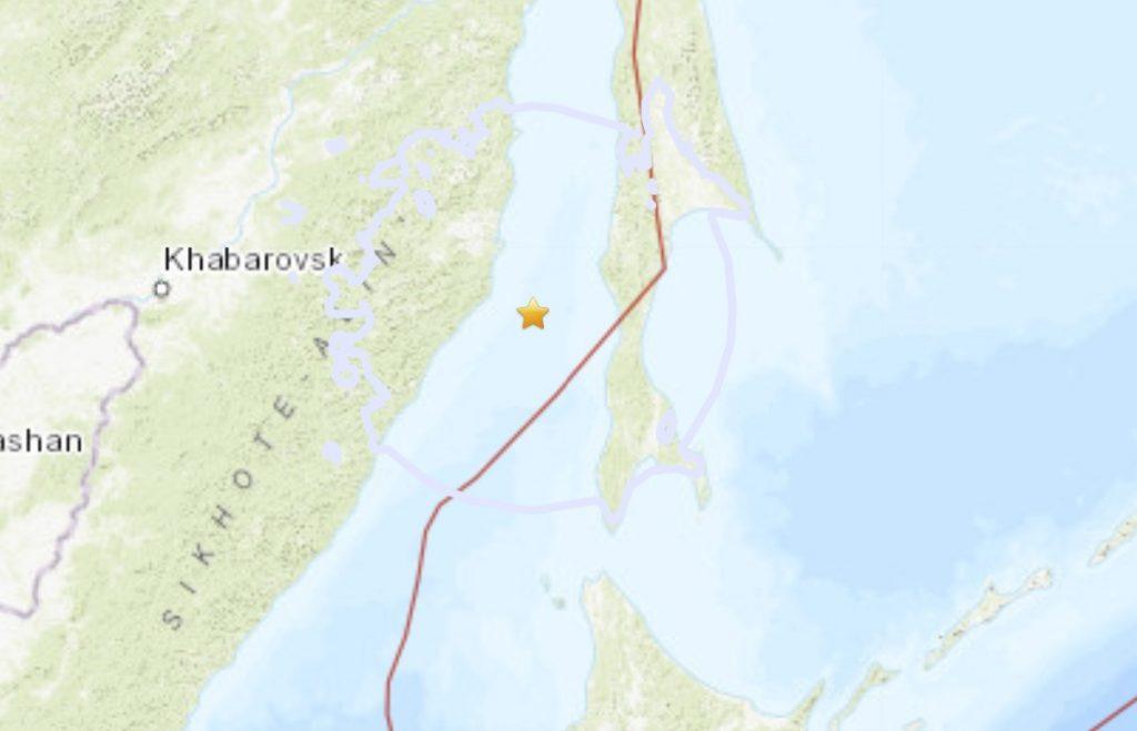 M6.4 earthquake hits Russia on November 30, M6.4 earthquake hits Russia on November 30 map, M6.4 earthquake hits Russia on November 30 video
