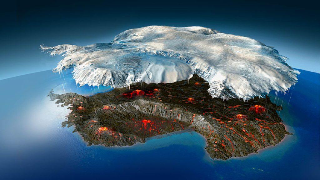 Antarctica volcanic eruption, antarctica eruption, new volcano forming in antarctica
