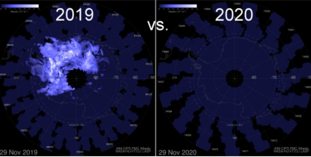 antarctica weather anomalies