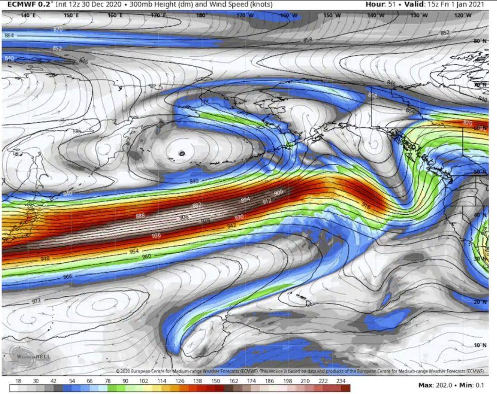 bomb cyclone pacific ocean new year, bombogenesis alaska, extreme weather 2021 alaska