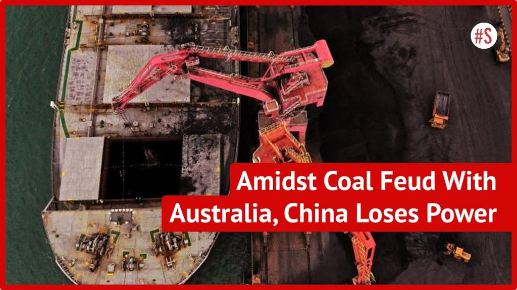 coal shortage and energy rationing in China