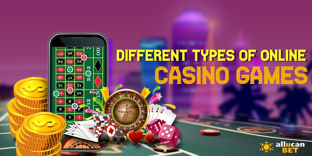 different types of online casino games