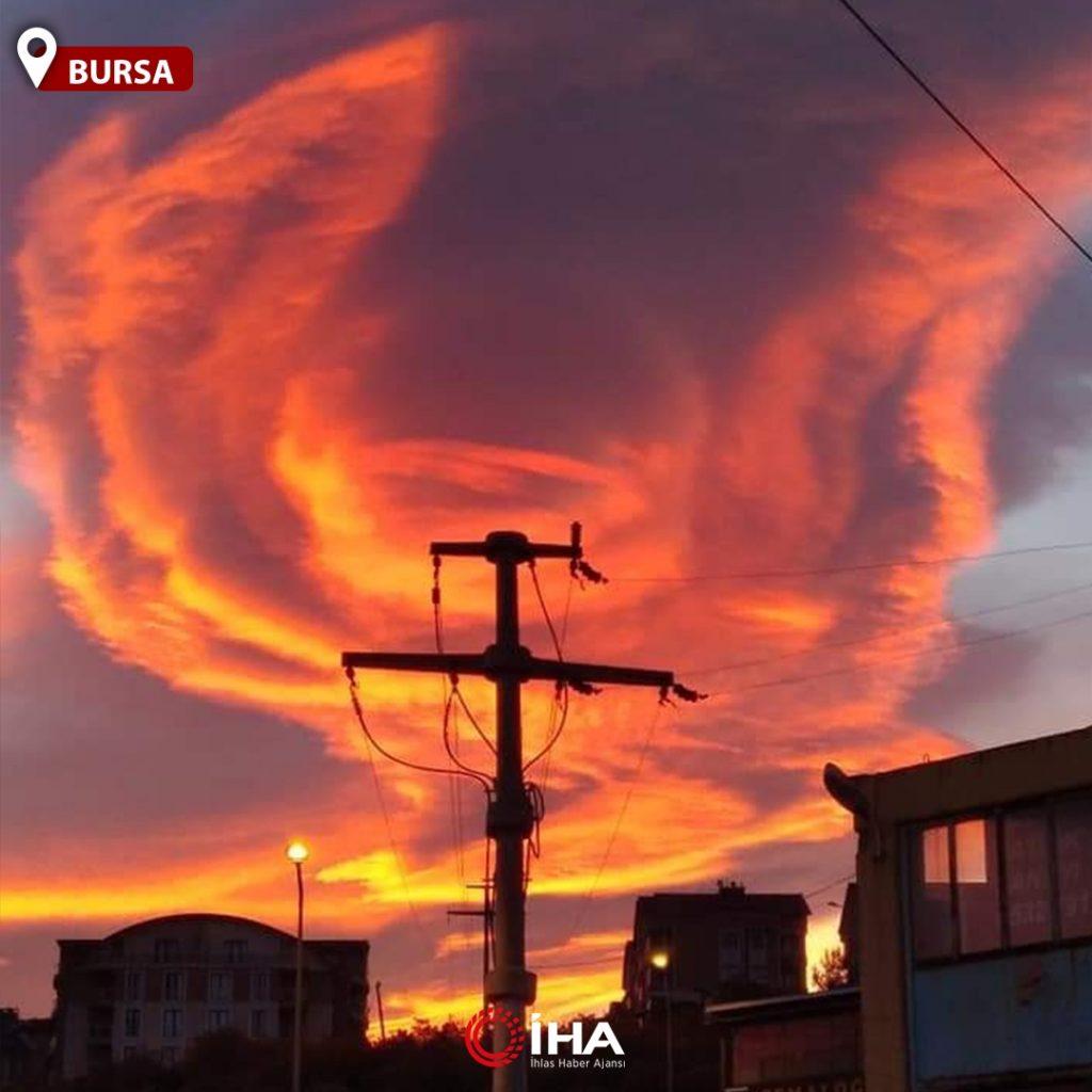 fiery lenticular cloud turkey, fiery lenticular cloud turkey pictures, fiery lenticular cloud turkey december 2020