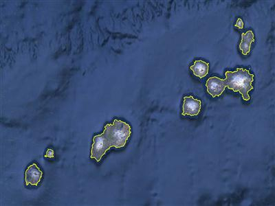 islands of the four mountains, islands of the four mountains caldera