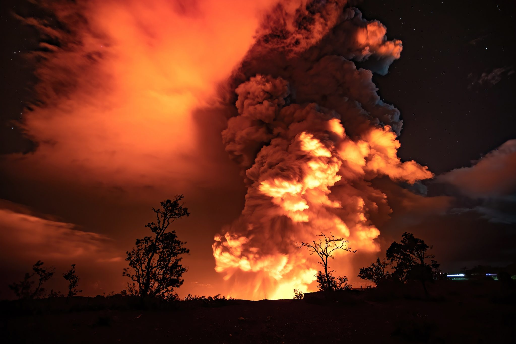 New Kilauea volcanic eruption on December 20, Kilauea volcanic eruption on December 20, Kilauea volcanic eruption on December 20 video, Kilauea volcanic eruption on December 20 pictures