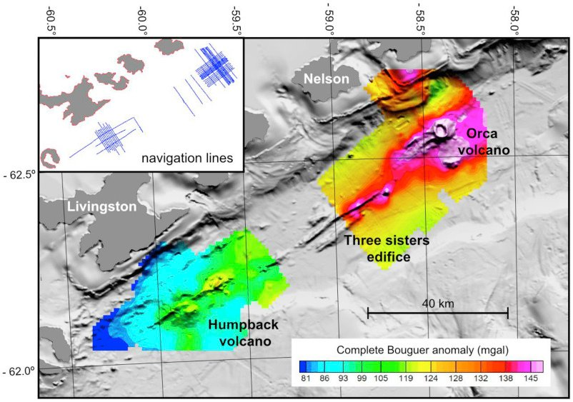 volcanism in the Bransfield Strait Antarctica