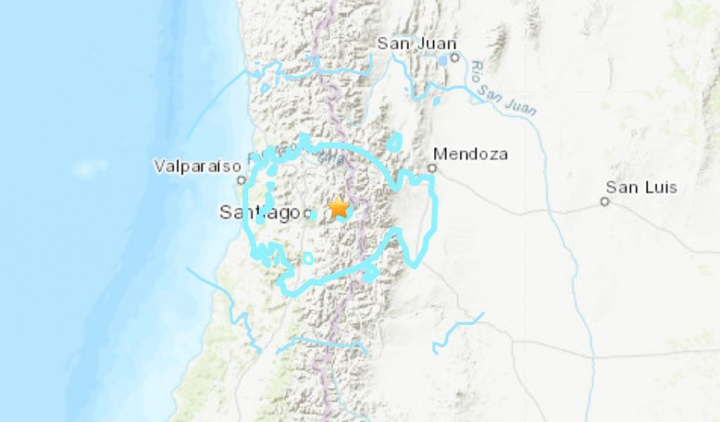 M5.8 earthquake hits inland Chile on January 23