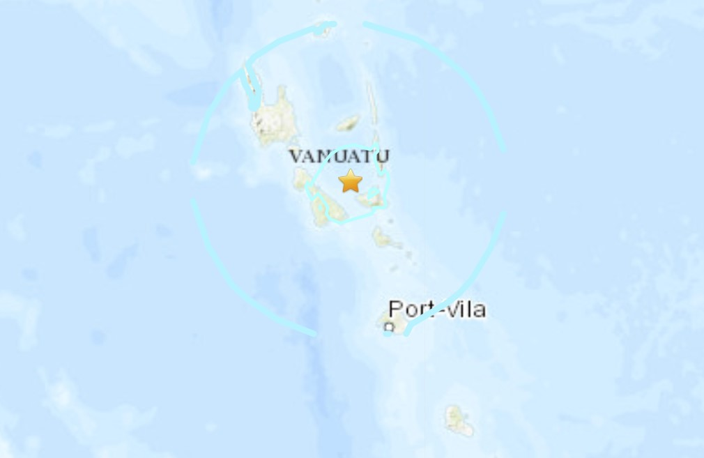 Strong M6.1 earthquake hits Vanuatu on January 10 2021