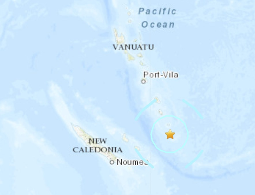 Strong M6.1 earthquake hits Vanuata on January 8 2021