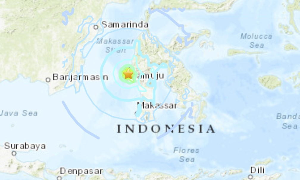 A powerful M6.2 earthquake destroyed buildings and bridges across the city of Mamuju in Sulawesi, Indonesia on January 14 2021
