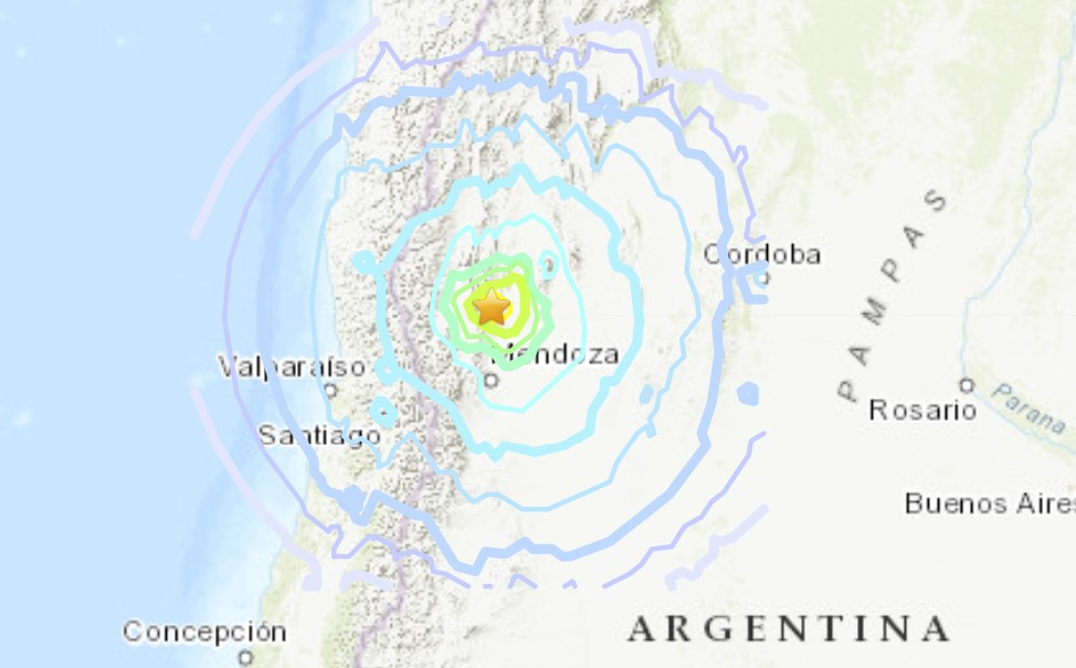 M6.4 earthquake damages parts of Argentina and Chile on January 18, M6.4 earthquake damages parts of Argentina and Chile on January 18 video, argentina terremoto, argentina terremoto video jan 18