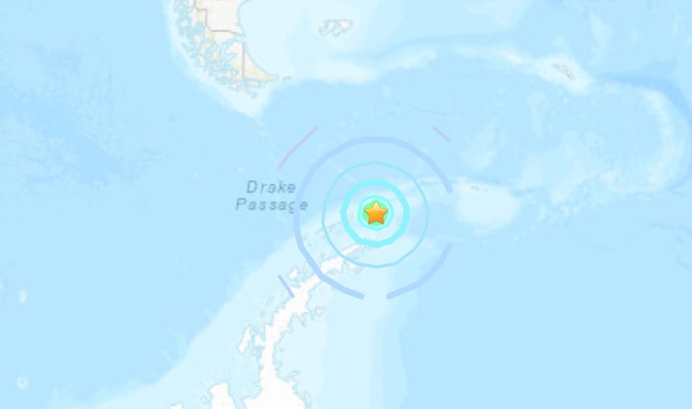 M7.0 earthquake antarctica january 23 2021
