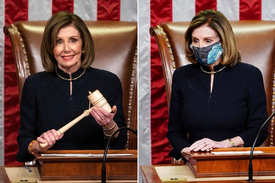 Nancy Pelosi Trump impeachment outfit, Nancy Pelosi and her Trump impeachment outfit