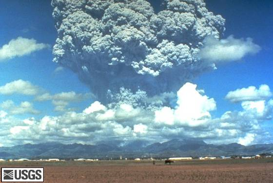 Pinatubo eruption 1991, Pinatubo eruption 2021, Pinatubo earthquake swarm 2021