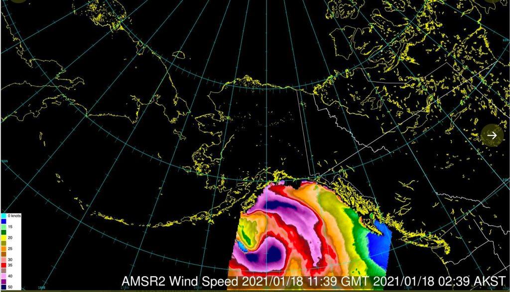 alaska storm, alaska storm january 19 2021, bomb cyclone alaska january 19 2021