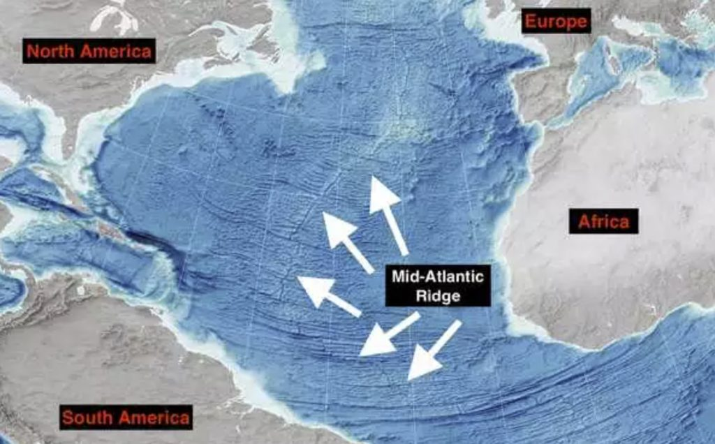 The Atlantic Ocean is getting wider every year, pushing the Americas away from Europe and Africa. We may finally know why.