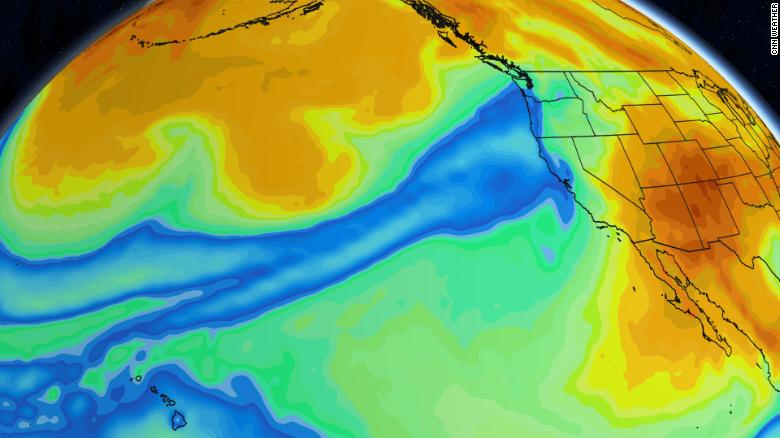 An insane atmospheric river storm is engulfing the Pacific Northwest in January 2021