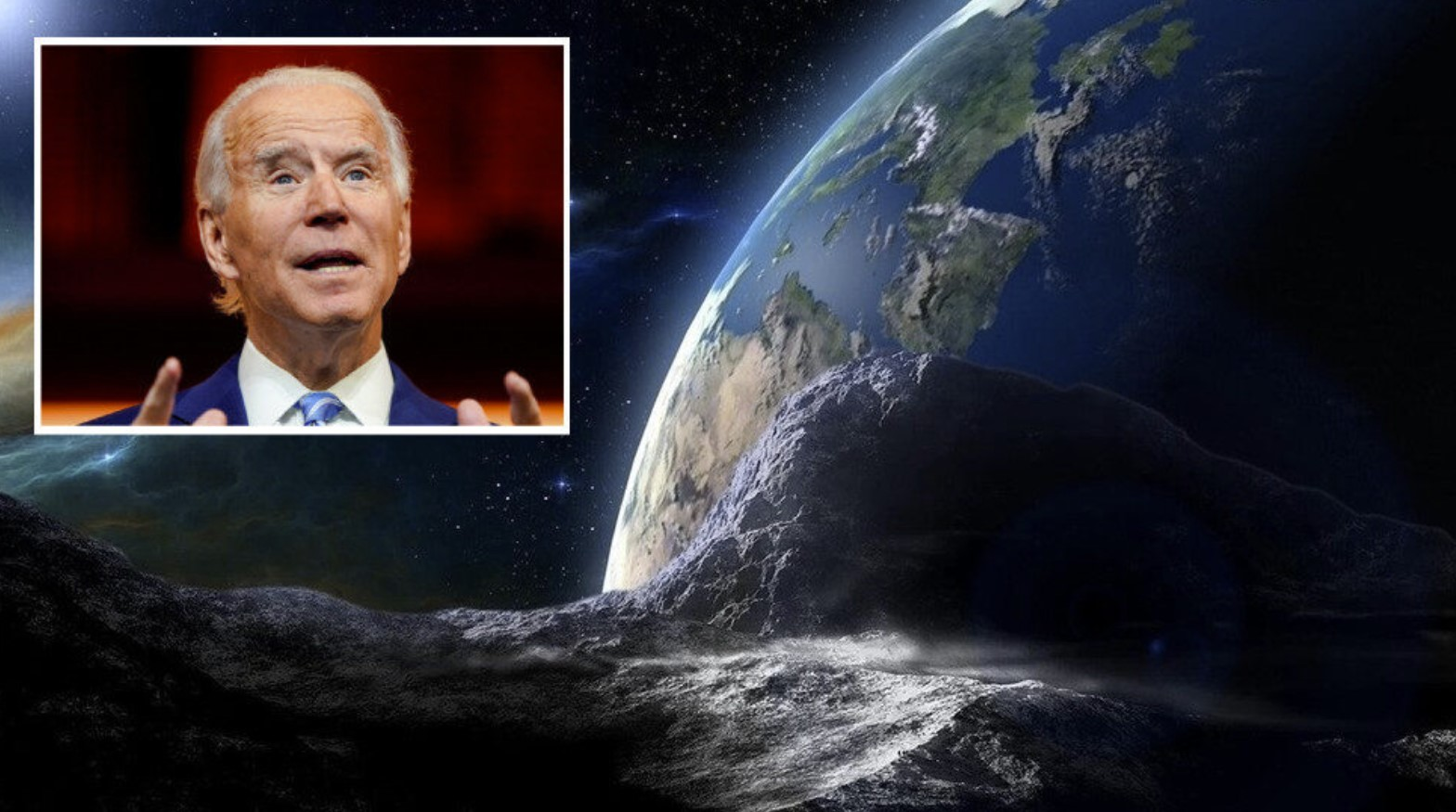 Six asteroids make 'close approach' to Earth on Biden's ...