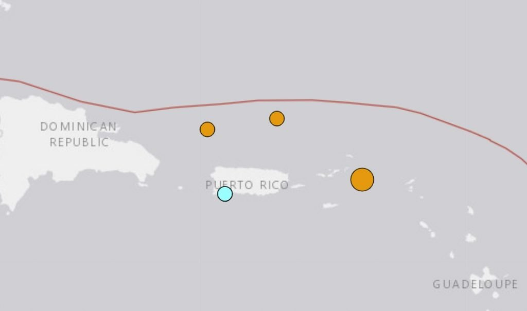 earthquakes caribbean january 2021