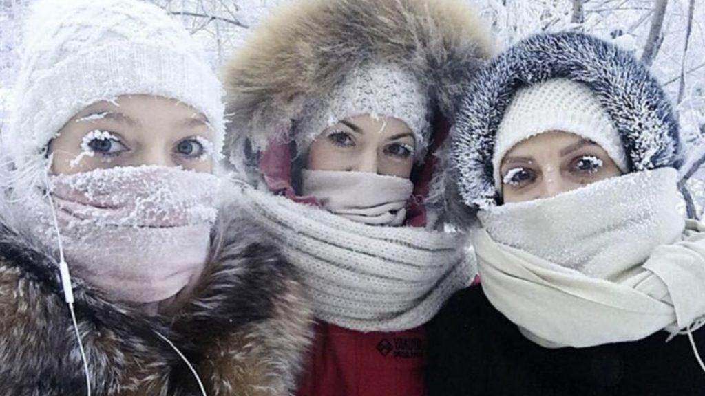 siberia cold temperature record, siberia cold wave